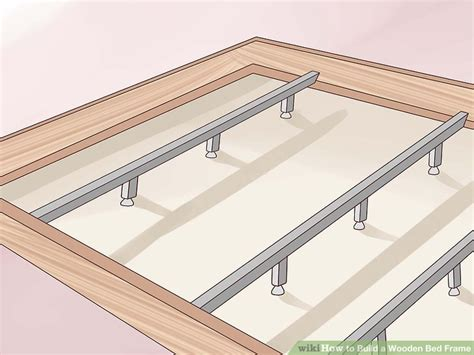 Reinforce Bed Frame 3 Ways To Build A Wooden Bed Frame Wikihow Autos Post