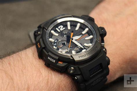 Casio G Shock Gpg 1000 Black like your tech tough casio s g shock hybrid smartwatch is