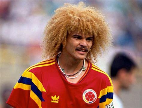 carlos valderrama colombia wk1990 sport pinterest