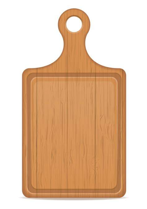 Kumpulan File Vektor Cutting 3d wooden cutting board vector design set 04 vector other