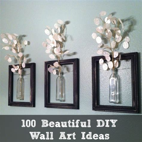 Diy Home Wall Decor Ideas 100 Beautiful Diy Wall Ideas Diy Cozy Home