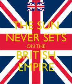 the sun never sets on the british empire poster seth