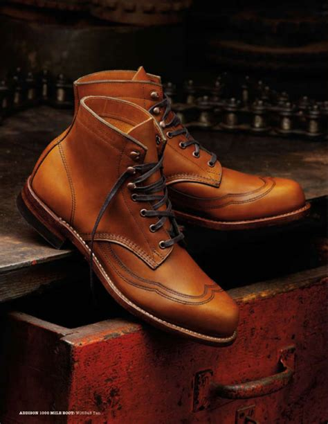 Sepatu Almost Wing wolverine 1000 mile boot fall 2010 por homme