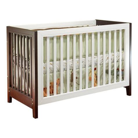 Two Tone Baby Cribs Sorelle Baby Furniture Sorelle City Lights Convertible Two Tone Crib Modern Baby Toddler