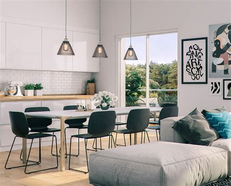 style room 32 more stunning scandinavian dining rooms