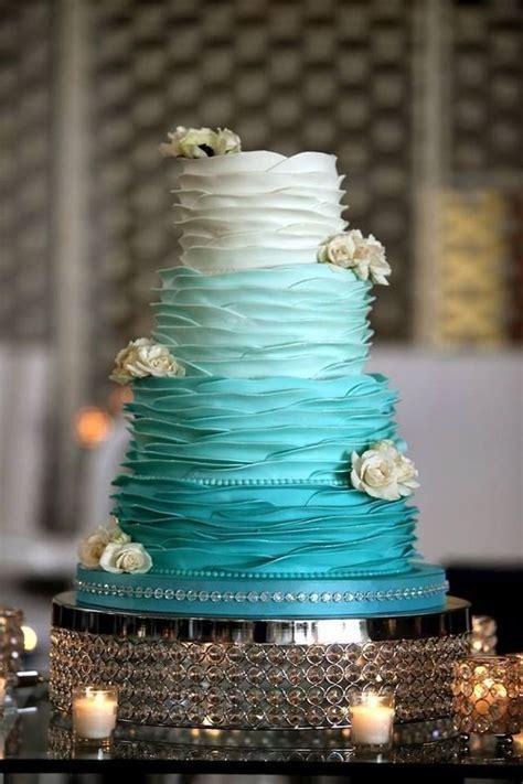 10 Planning Ideas for a Teal Wedding   mywedding