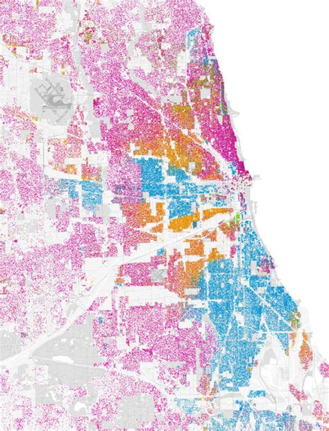 chicago map by race radical cartographers unite