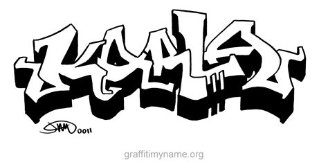 Awesome Graffiti Letters #3: Karla.png