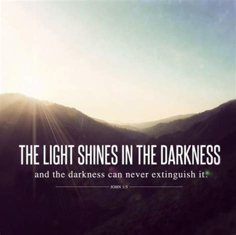 the light shines in the darkness an earthen vessel therefore encourage one another and