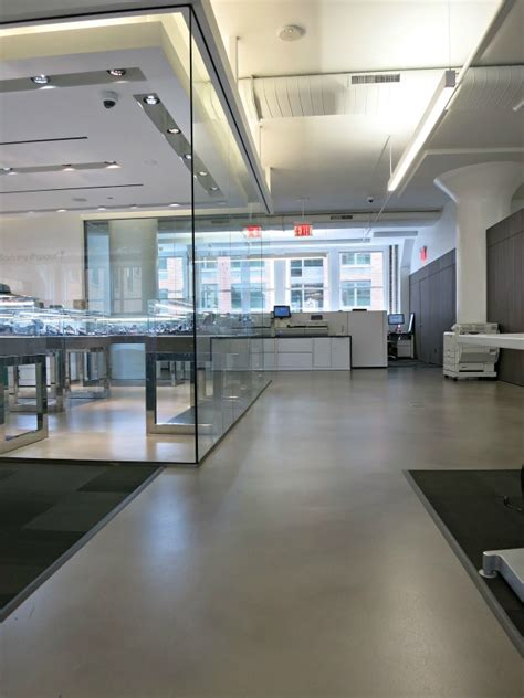 How Polished Concrete Makes Facebook's NYC Office Better
