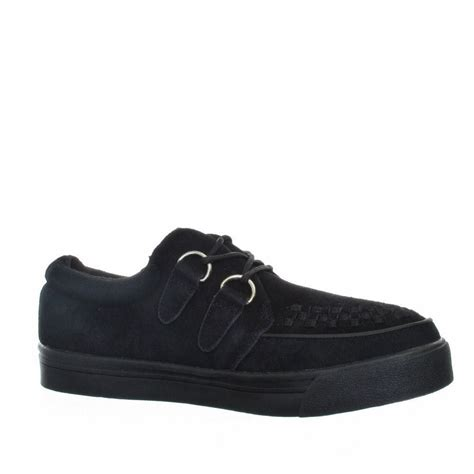 creeper shoes for tuk sneaker creepers in black womens shoes size 3 8 ebay