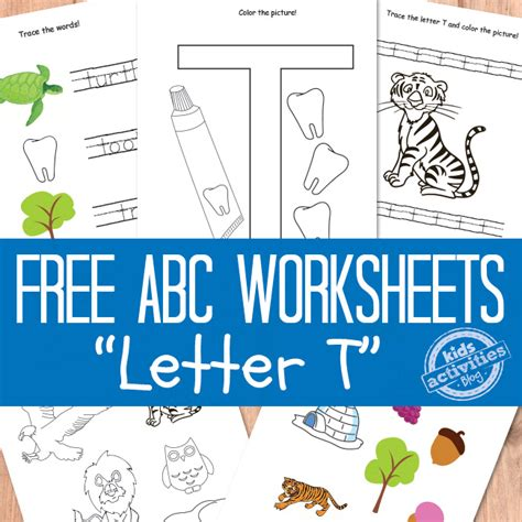 Search At T Letter T Worksheets Free Printable