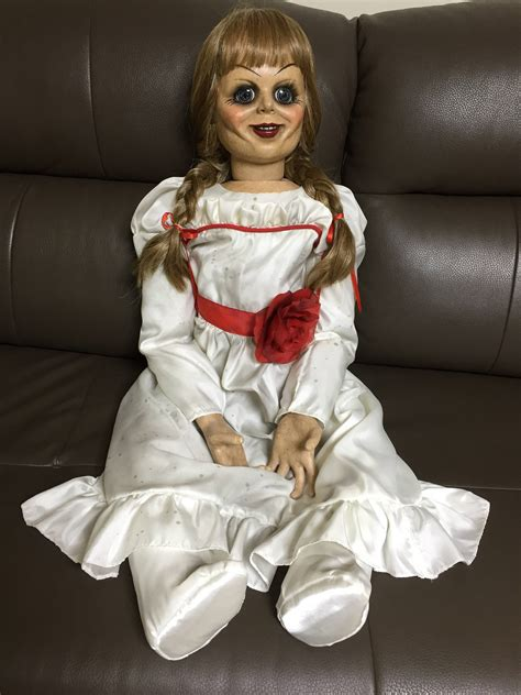 annabelle doll buy annabelle doll 1 1 size replica