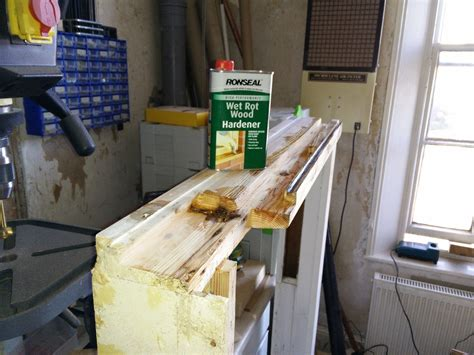 Window Sill Repair Repairing A Window Sill Part 2 Wobblycogs Workshop
