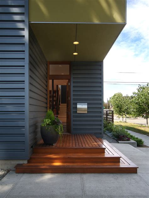 flip flop house s modern entry seattle by mohler