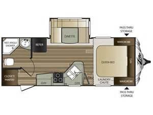 Cougar Trailers Floor Plans by 2016 Cougar Xlite 21rbs Floor Plan Travel Trailer Keystone