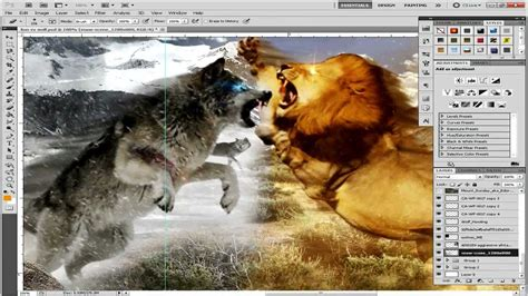 wolf vs wolf vs by trueart i2obot comp animal