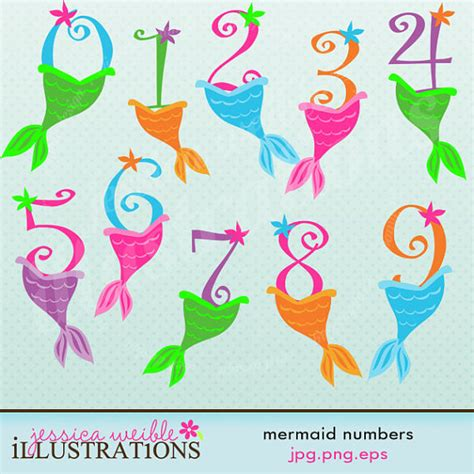 Jw Wallpaper Sticker Gold Flowers mermaid numbers digital clipart for card design