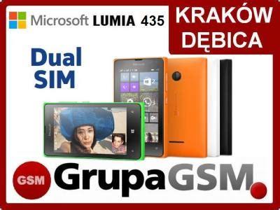 microsoft nokia lumia 435 8gb dual sim polska fv 5376474740 oficjalne archiwum allegro
