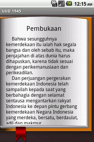 Undang Undang Dasar 1945 Hasil Amandemen Ke 4 uud ri 1945 android apps on play