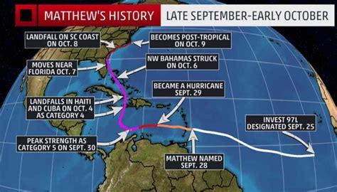 recap  hurricane matthews destruction scuttlebutt sailing news