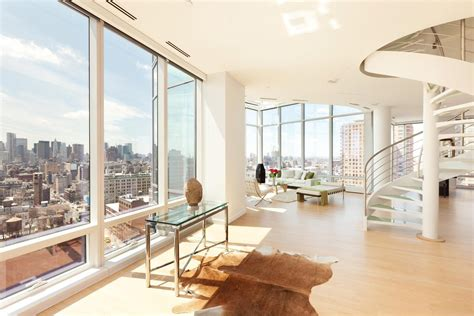 tower new york penthouse panoramic duplex penthouse in astor place tower