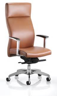 solium luxury leather executive office chair