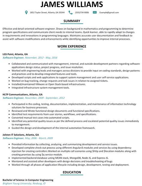 pic junior software developer 1 resume template all best cv resume