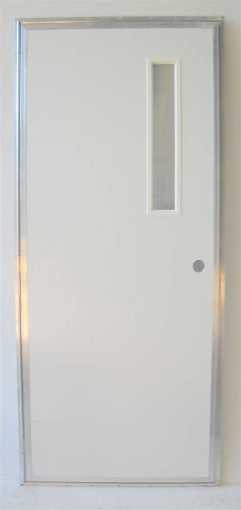 Inswing Shower Door 32 X 72 Outswing Left Hinge Slot Pacific Mobile Supply