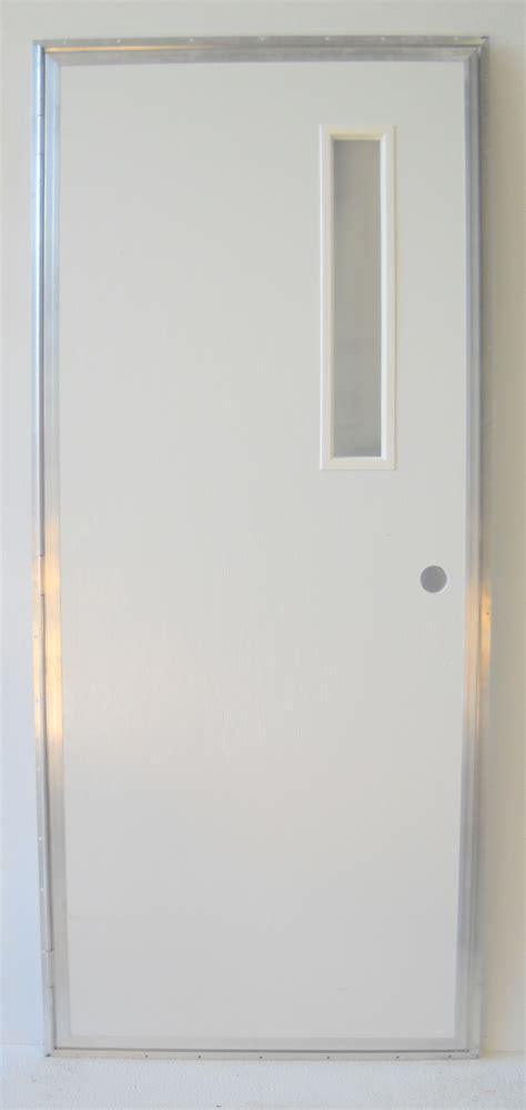 In Swing Shower Door 32 X 72 Outswing Left Hinge Slot Pacific Mobile Supply