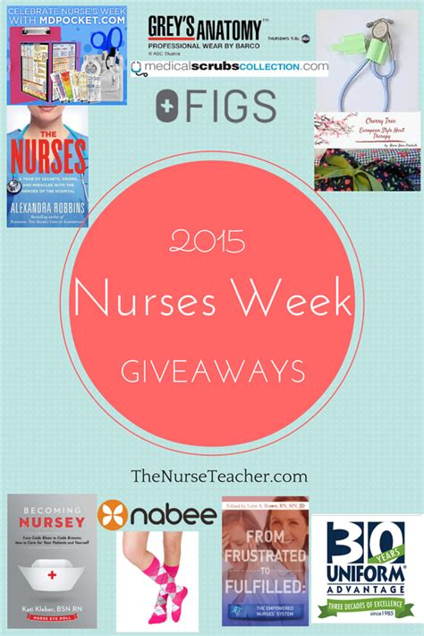Nurses Week Giveaways - nurses week giveaway 2015 the nurse teacher
