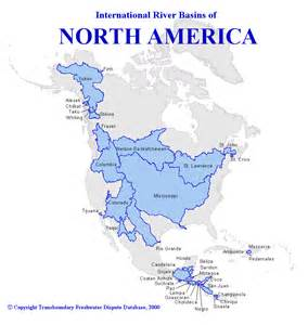 america water map map water basins of america waterwiki net