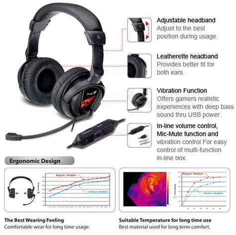 Genius Hs G500v Vibration Gaming Headset Murah genius vibration gaming headset hs g500v moresales