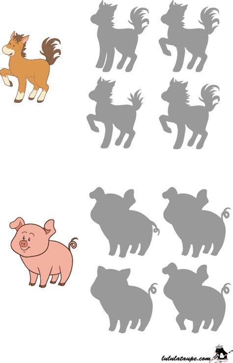 Jeu Des Ombres Le Cheval Le Cochon Lulu La Taupe Jeux