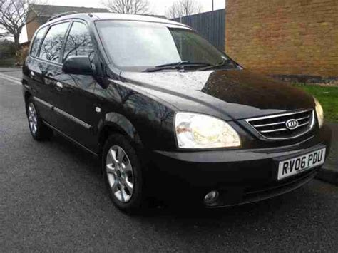 Kia Carens Black Kia Carens 2 0 Crdi Lx 06 In Black 5 Seats Manual A C