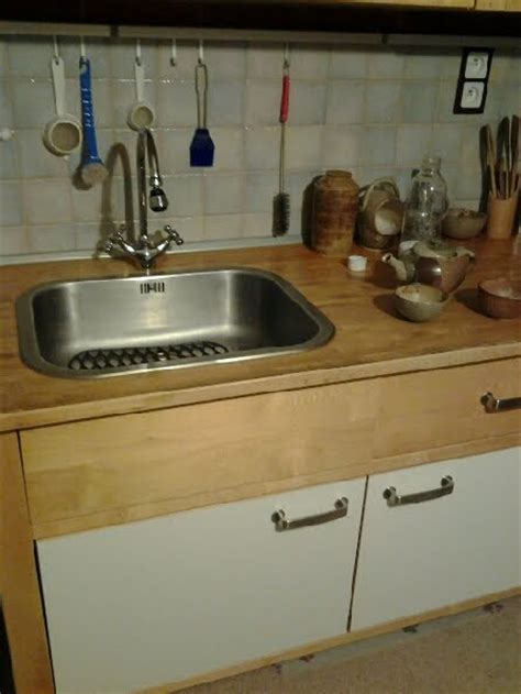 ikea kitchen sink cabinet hack varde counter drawer hacked by kitchen sink ikea hackers