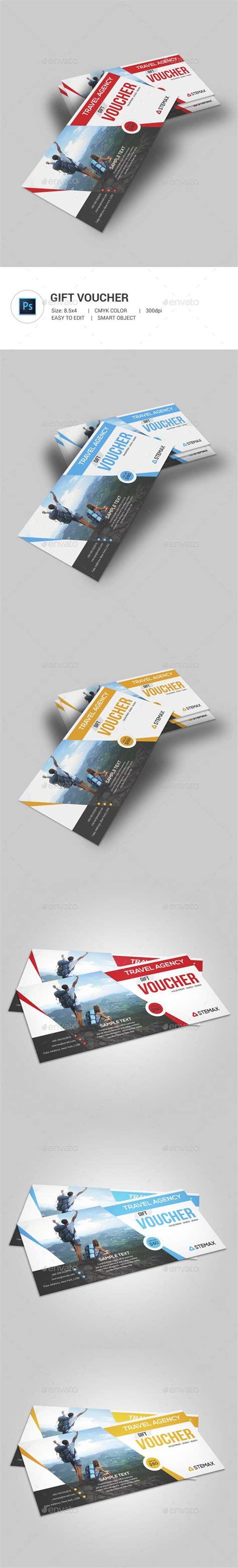 Travel Agency Gift Cards - best 25 gift vouchers ideas on pinterest gift voucher design brochure ideas and