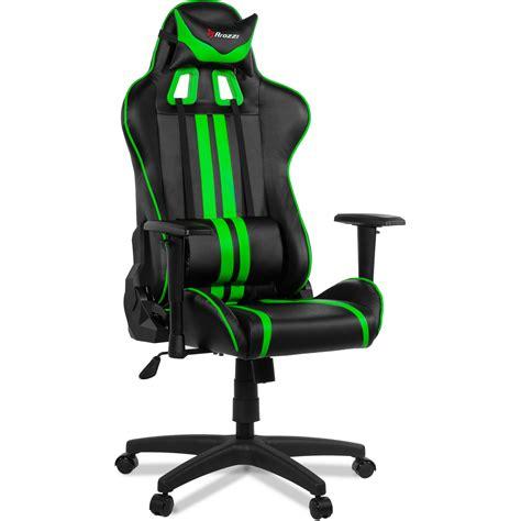 green gaming chair arozzi mezzo gaming chair green mezzo gn b h photo