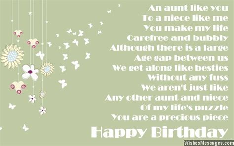 Quotes For Aunts Birthday Birthday Poems For Aunt Wishesmessages Com