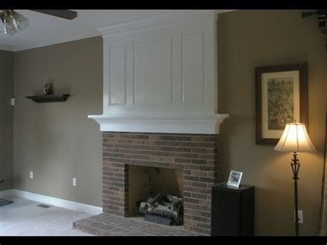 Fireplace Makeover (before and after).   YouTube
