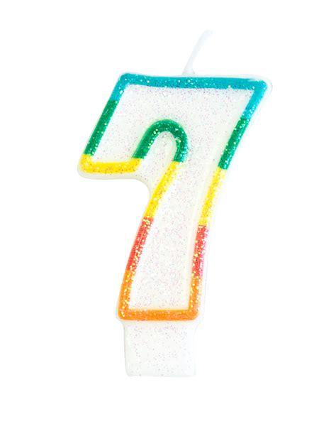 candela di compleanno candela di compleanno numero 7 addobbi e vestiti di