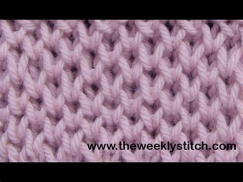 knitting pattern on youtube honeycomb brioche youtube