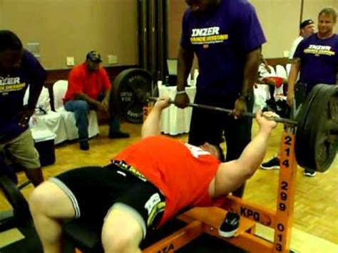 tiny meeker bench press tiny meeker warming up for bench press youtube