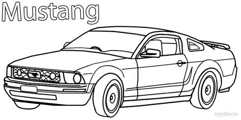 free coloring pages of mustang cars free coloring pages of d gt500 shelby