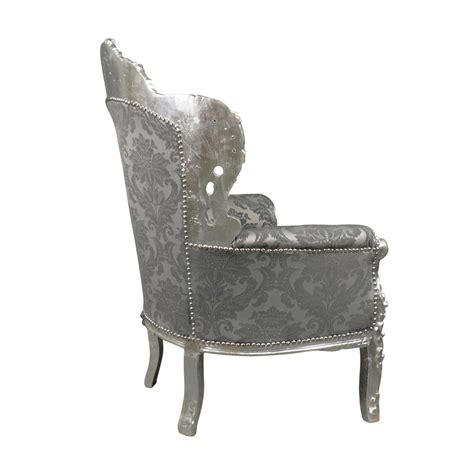 canapé style baroque pas cher fauteuil baroque argent royal rococo meuble et canap 233