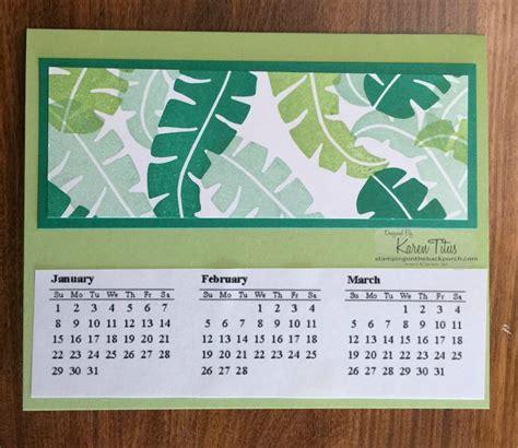 Handmade Calendars - handmade calendar gift idea karentitus