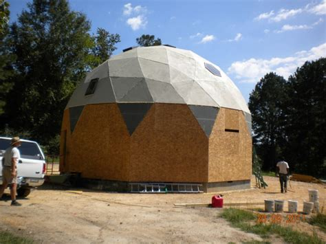 2011 alabama dome home built with econodome t beam frame kit