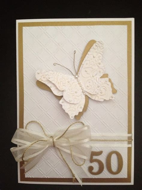 Best 25  50th anniversary cards ideas on Pinterest