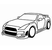 Cars  Nissan GTR Coloring Page NissanGTR