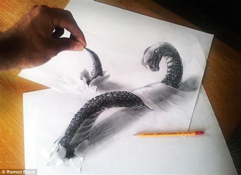 3d Sketches On Paper by You Won T Believe Your Artist Creates Amazing 3d